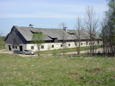 Huge farm building for sale in LT